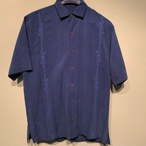 Tommy Bahama 100% Silk Causal Shirt